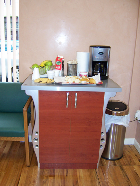 Office coffee station images for Coffee station furniture